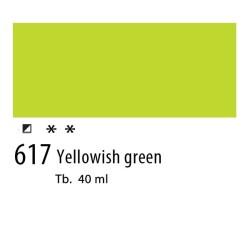 617 - Olio Van Gogh Verde giallastro