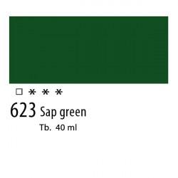 623 - Olio Van Gogh Verde vescica