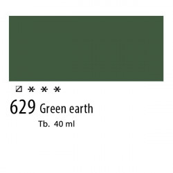 629 - Olio Van Gogh Terra verde