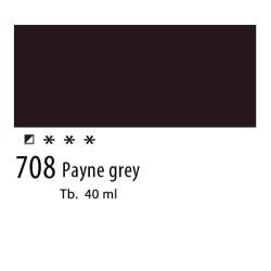 708 - Olio Van Gogh Grigio di Payne