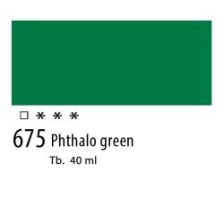 675 - Olio Van Gogh Verde ftalo