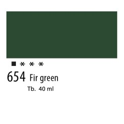 654 - Olio Van Gogh Verde pino