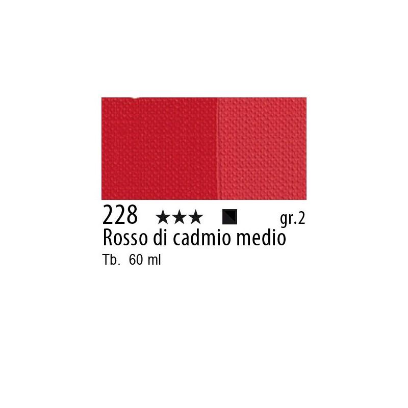 228 - Maimeri Brera Acrylic Rosso di cadmio medio