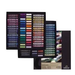 Rembrandt Soft Pastels General Selection Master Set, 60 pastelli soffici e 60 1/2 pastelli soffici