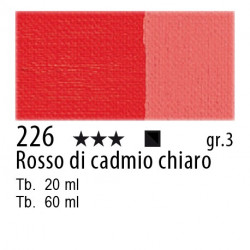 226 - Maimeri Olio Classico Rosso di cadmio chiaro