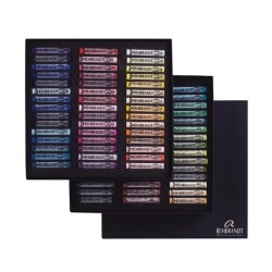 Rembrandt Soft Pastels Portrait Selection Professional Set, scatola 90 pastelli soffici