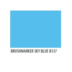 Brushmarker Sky Blue B137