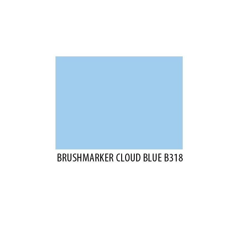 Brushmarker Cloud Blue B318