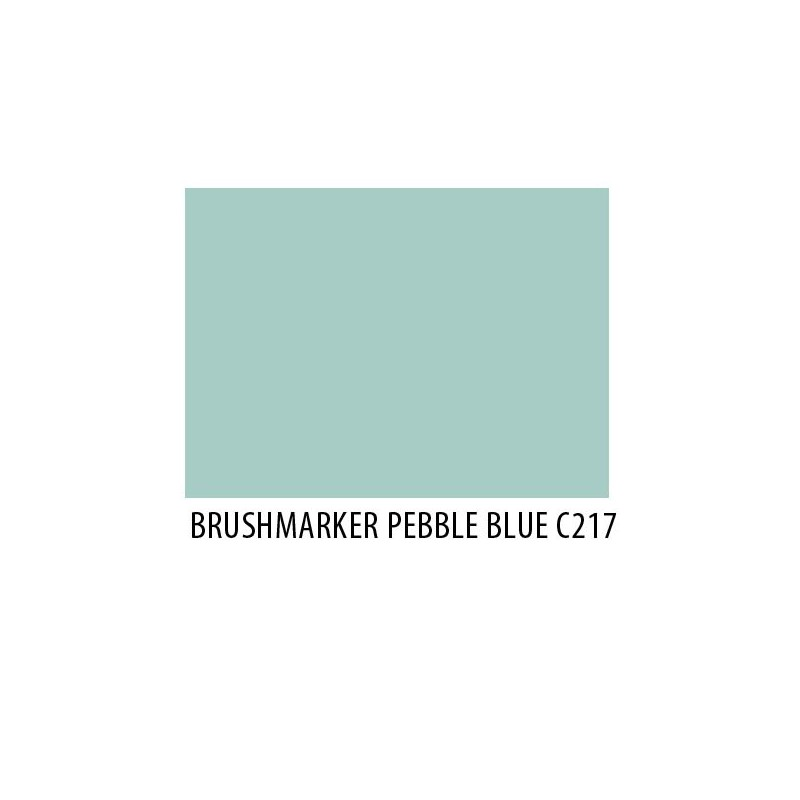 Brushmarker Pebble Blue C217
