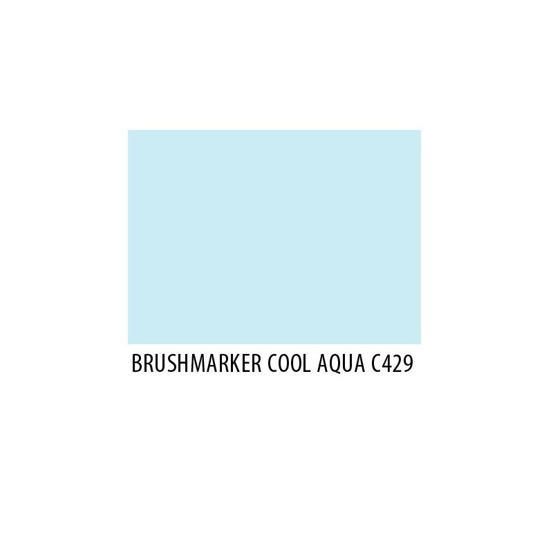 Brushmarker Cool Aqua C429