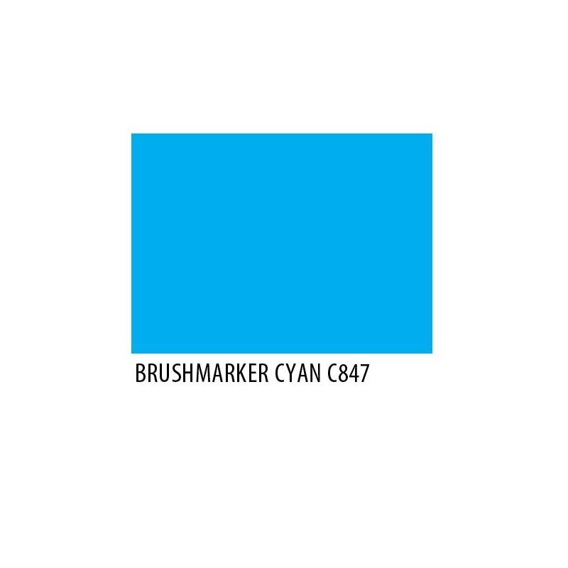 Brushmarker Cyan C847
