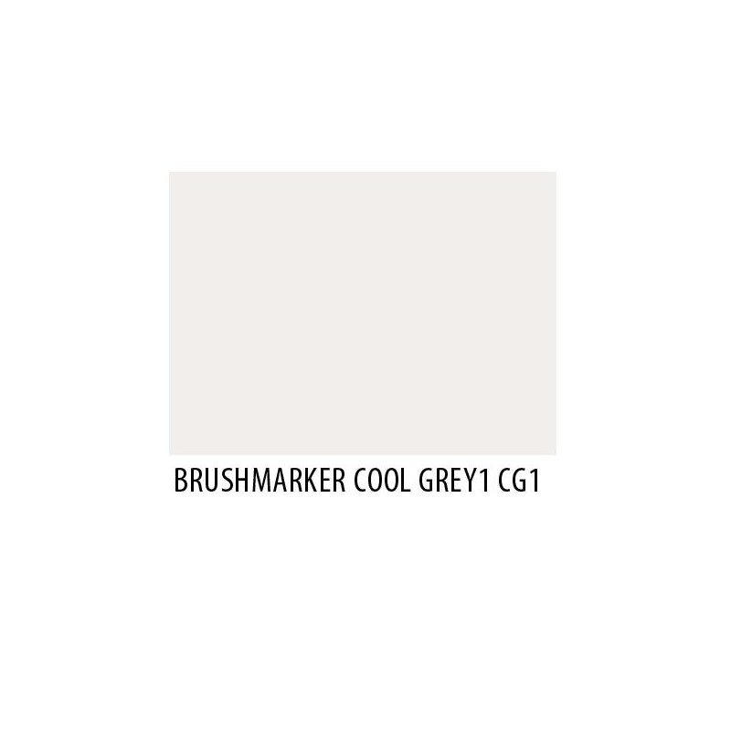 Brushmarker Cool Grey 1 CG1
