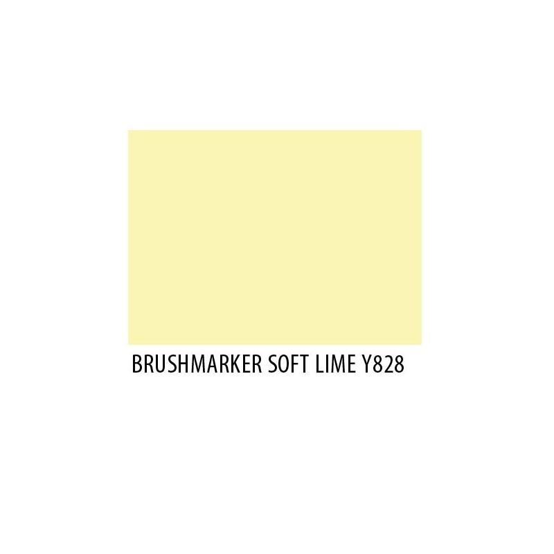 Brushmarker Soft Lime Y828