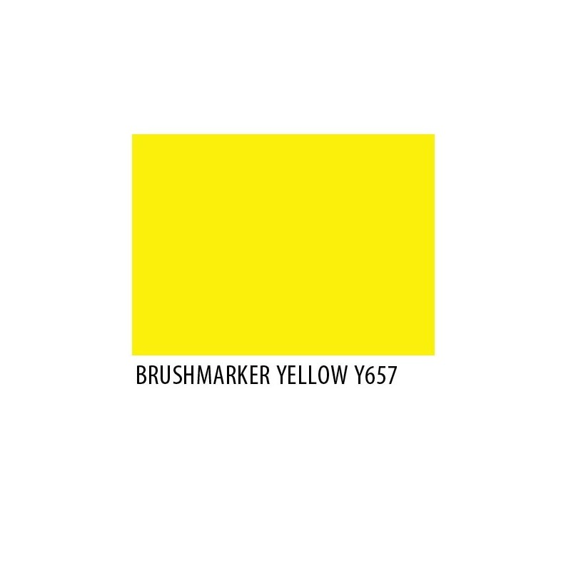 Brushmarker Yellow Y657