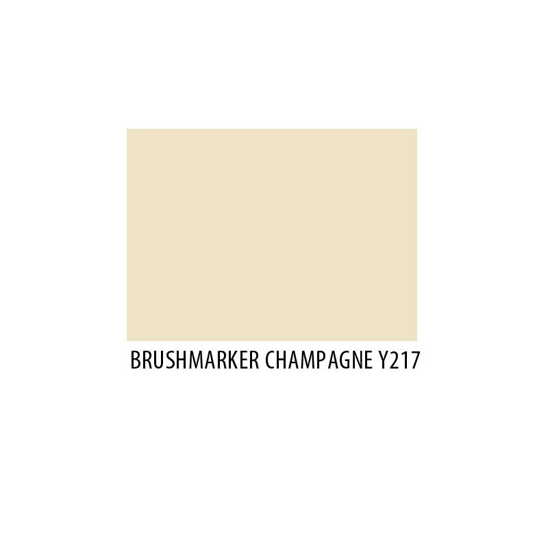 Brushmarker Champagne Y217