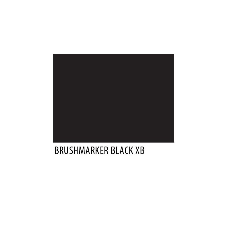 Brushmarker Black XB
