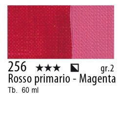 256 - Maimeri Brera Acrylic Rosso primario - Magenta
