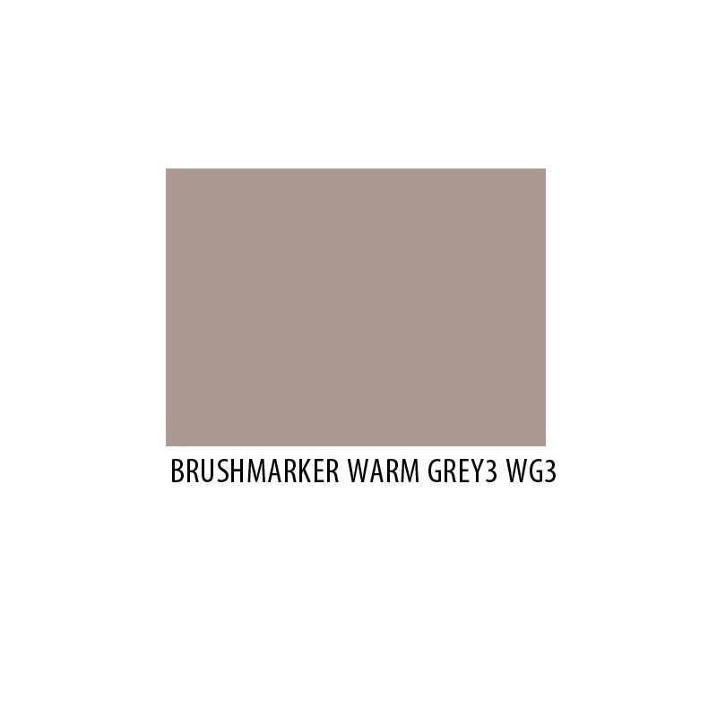 Brushmarker Warm Grey 3 WG3