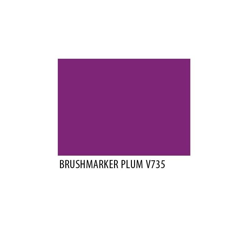 Brushmarker Plum V735