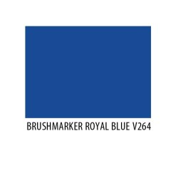 Brushmarker Royal Blue V264