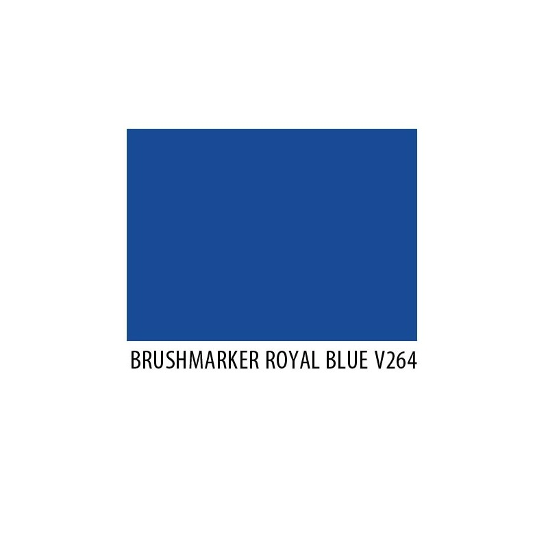 Brushmarker Royal Blue V264