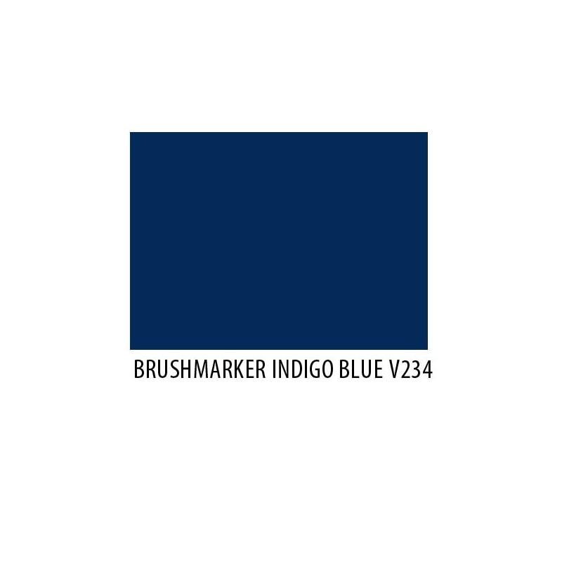 Brushmarker Indigo Blue V234