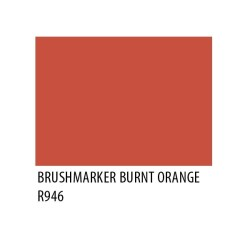 Brushmarker Burnt Orange R946