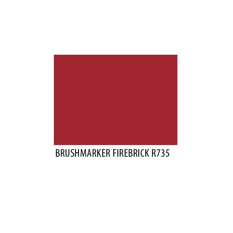 Brushmarker Firebrick R735