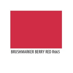 Brushmarker Berry Red R665