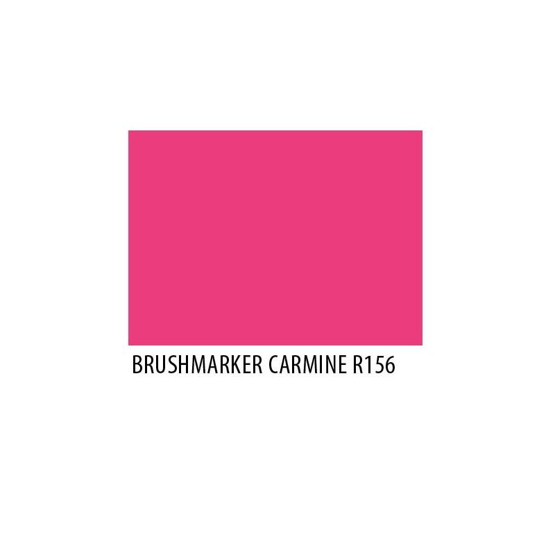 Brushmarker Carmine R156