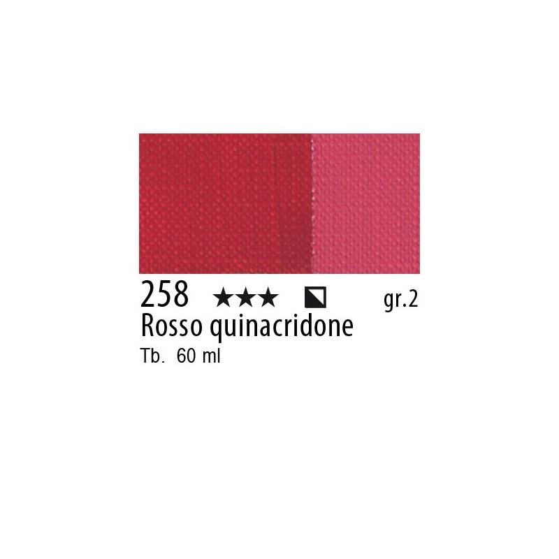 258 - Maimeri Brera Acrylic Rosso quinacridone