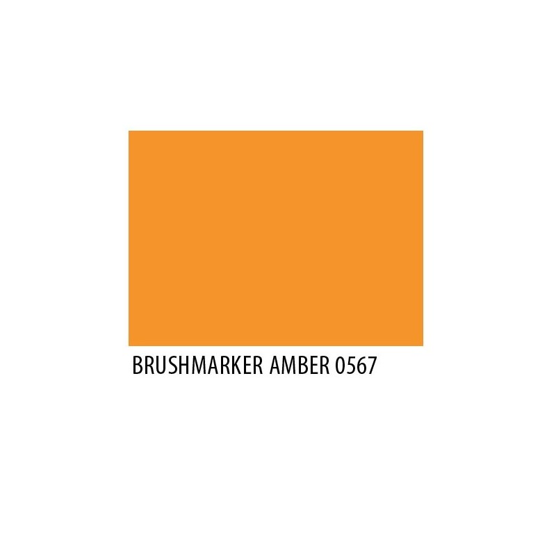 Brushmarker Amber O567