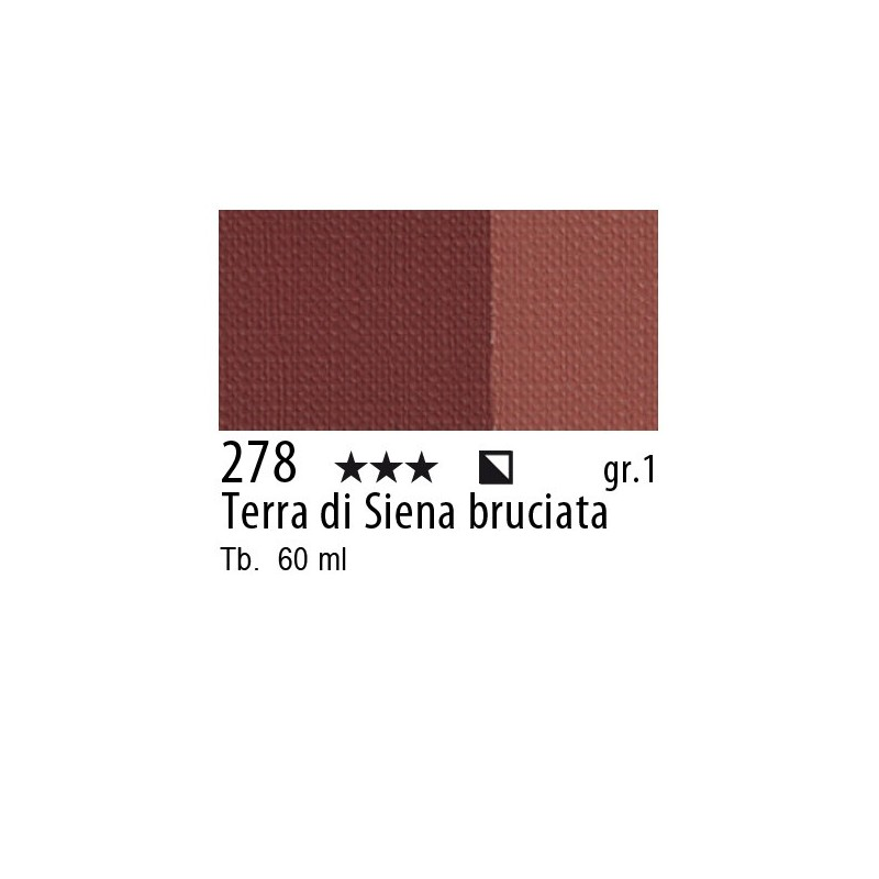 278 - Maimeri Brera Acrylic Terra di Siena bruciata
