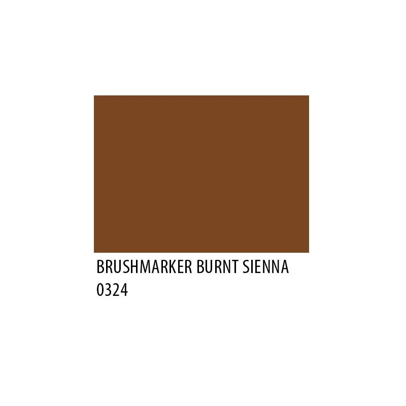 Brushmarker Burnt Sienna O324