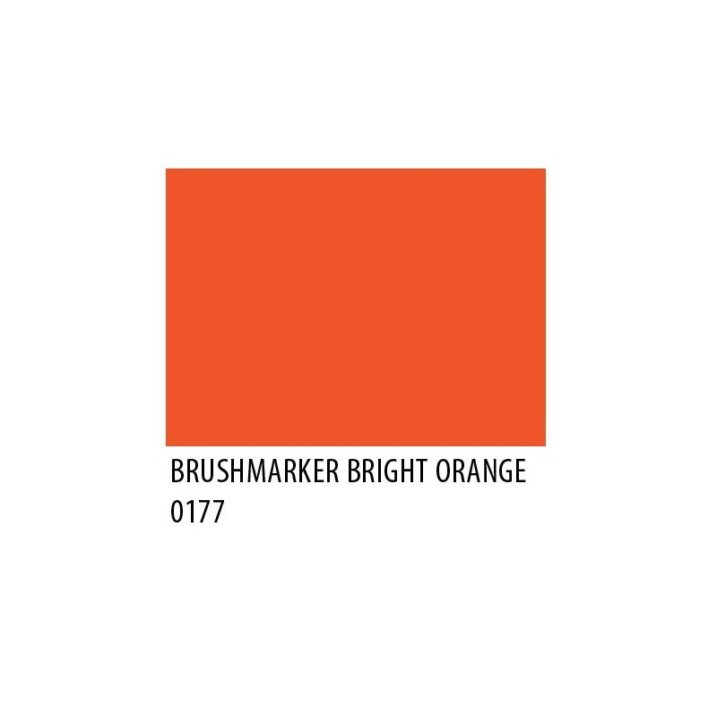 Brushmarker Bright Orange O177