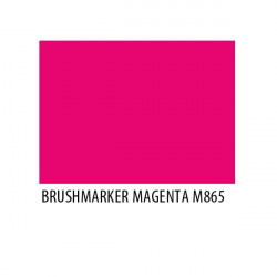 Brushmarker Magenta M865
