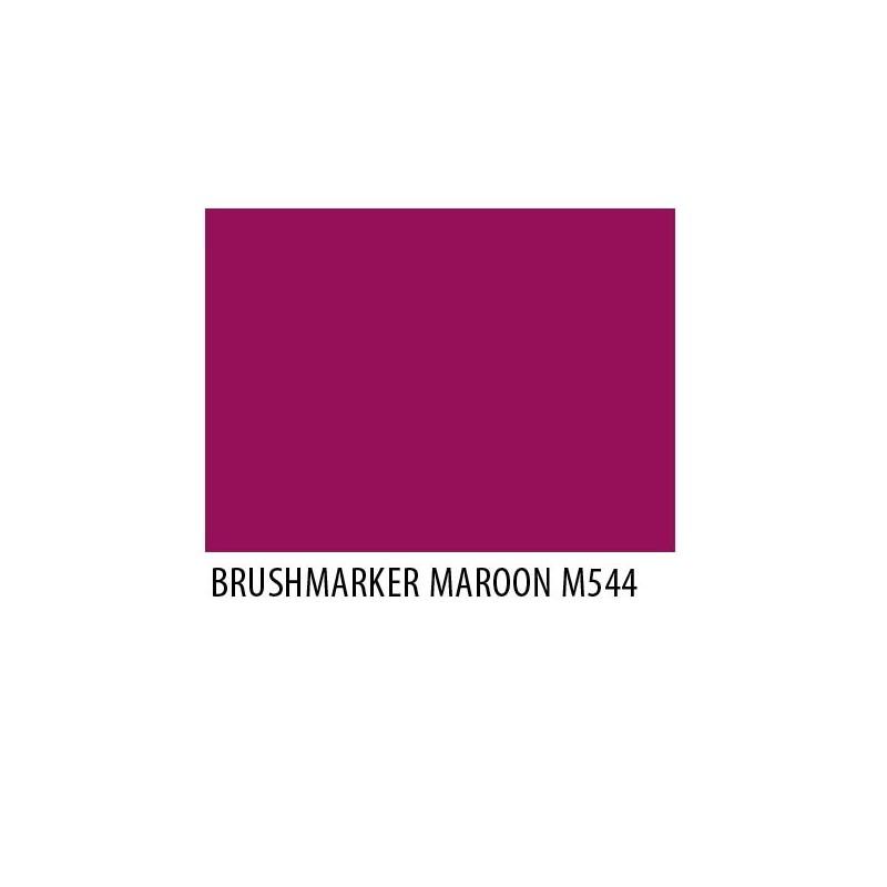 Brushmarker Maroon M544