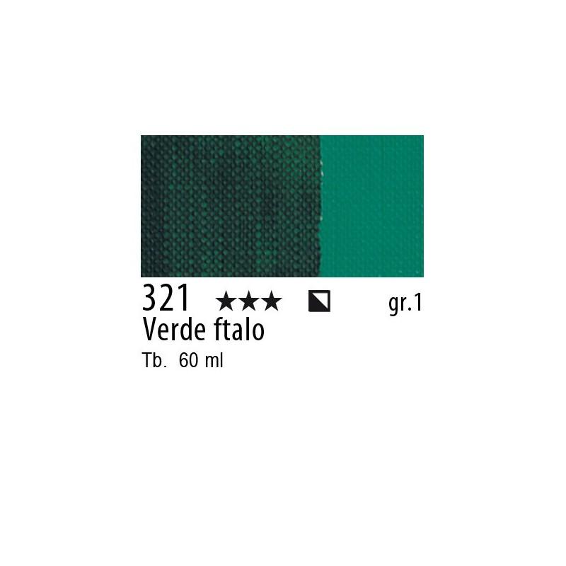 321 - Maimeri Brera Acrylic Verde ftalo