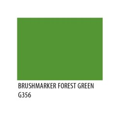 Brushmarker Forest Green G356