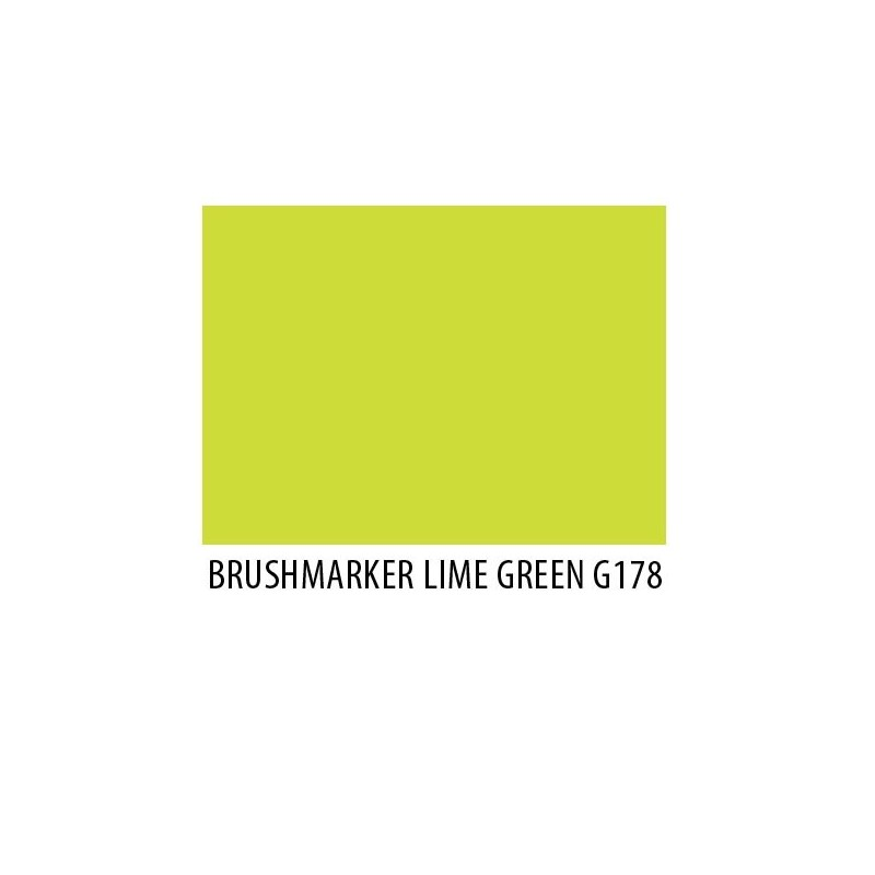 Brushmarker Lime Green G178