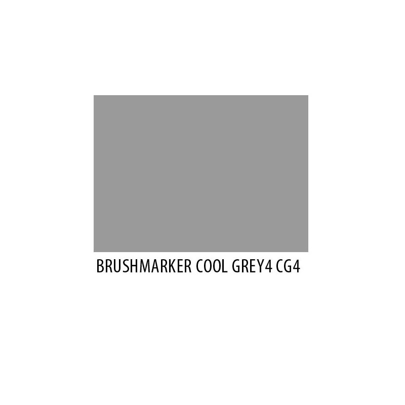 Brushmarker Cool Grey 4 CG4