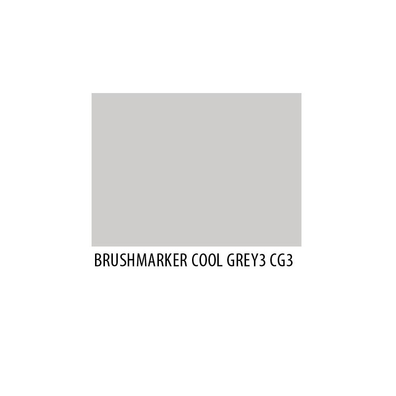Brushmarker Cool Grey 3 CG3