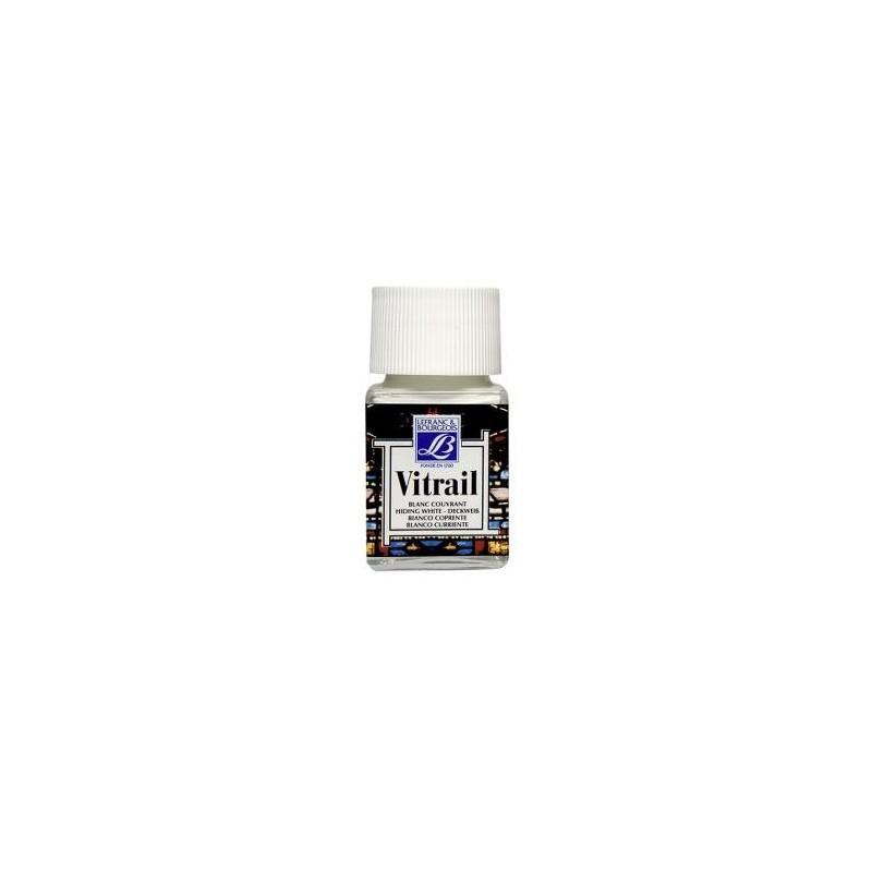 004 - Lefranc Vitrail Bianco Coprente