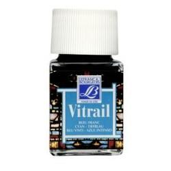 087 - Lefranc Vitrail Blu di Francia
