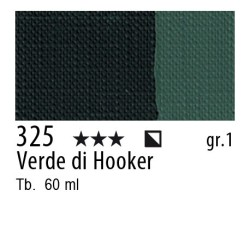 325 - Maimeri Brera Acrylic Verde di Hooker