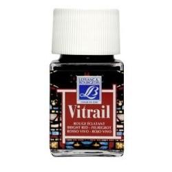 433 - Lefranc Vitrail Rosso Vivo