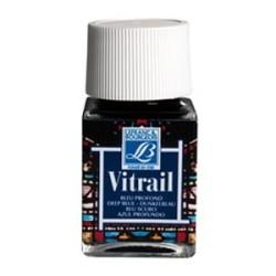 465 - Lefranc Vitrail Blu Scuro