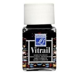 267 - Lefranc Vitrail Nero Coprente