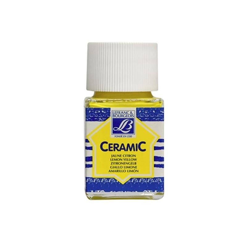 169 - Lefranc Ceramic Giallo Limone