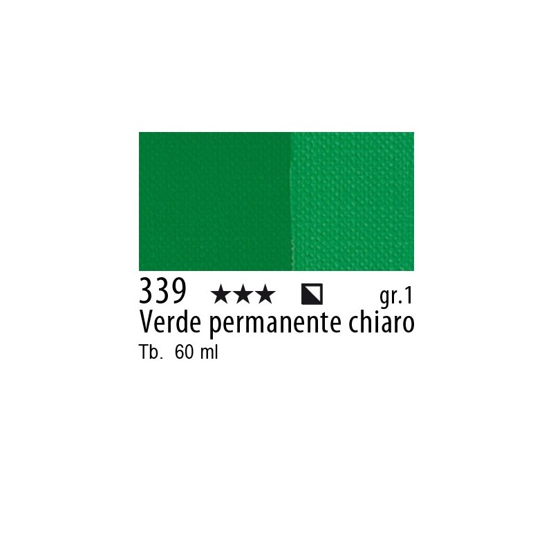339 - Maimeri Brera Acrylic Verde permanente chiaro